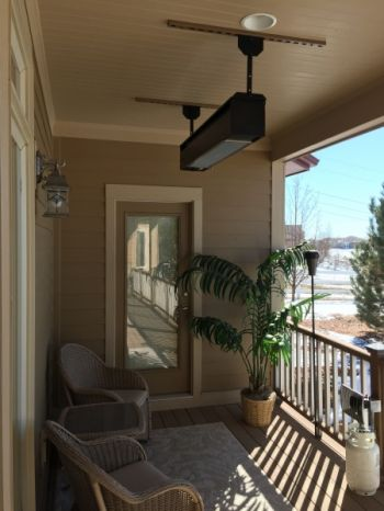 Patio Heater Install 1