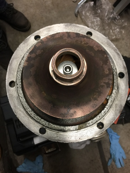 Pump Impeller After Rebuild