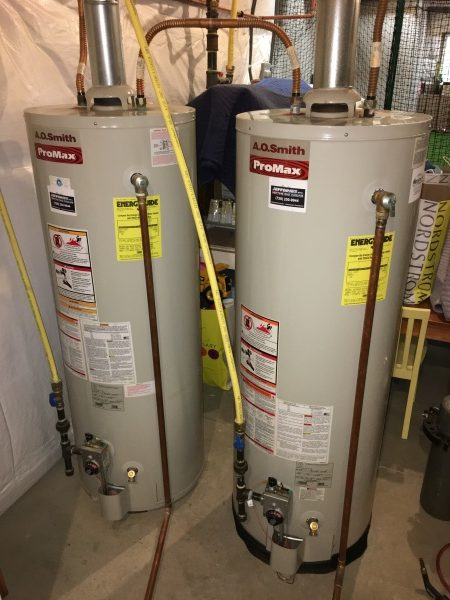 Water Heaters Before