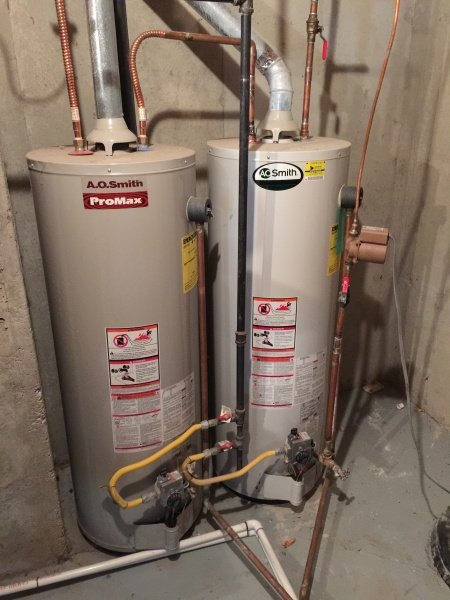 Water Heater Replacement Before