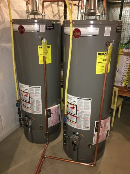 Water Heaters After
